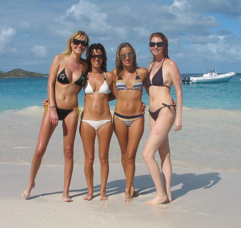 تابستان و لباس شنای زنان: آمریکا
