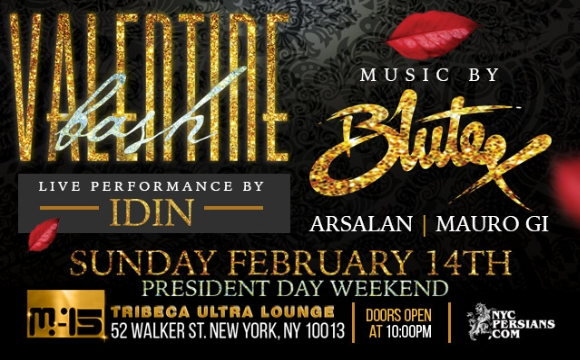 Valentine bash 2016 featuring bia2 resident dj blutex for Table 52 chicago dress code