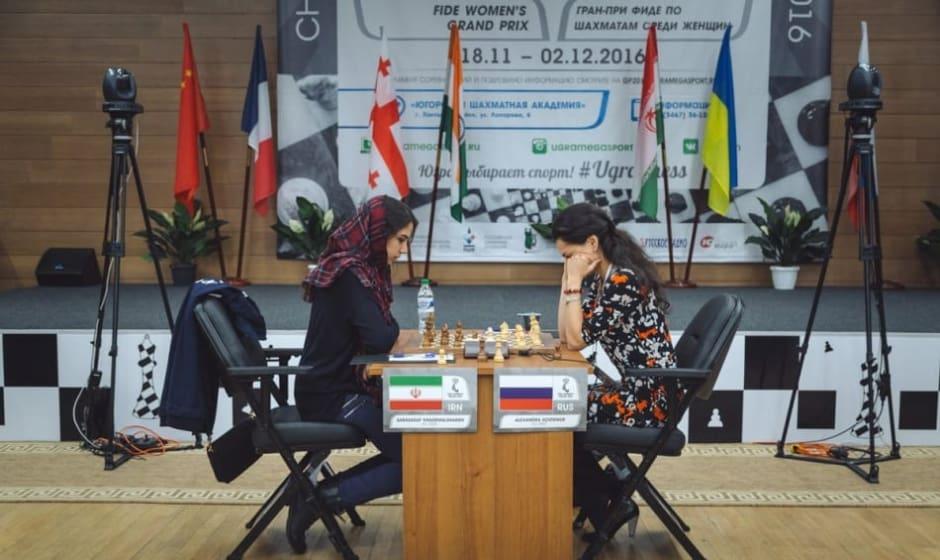 Iranian Chess Woman Grandmaster Defeats Russian Champion in Grand ...