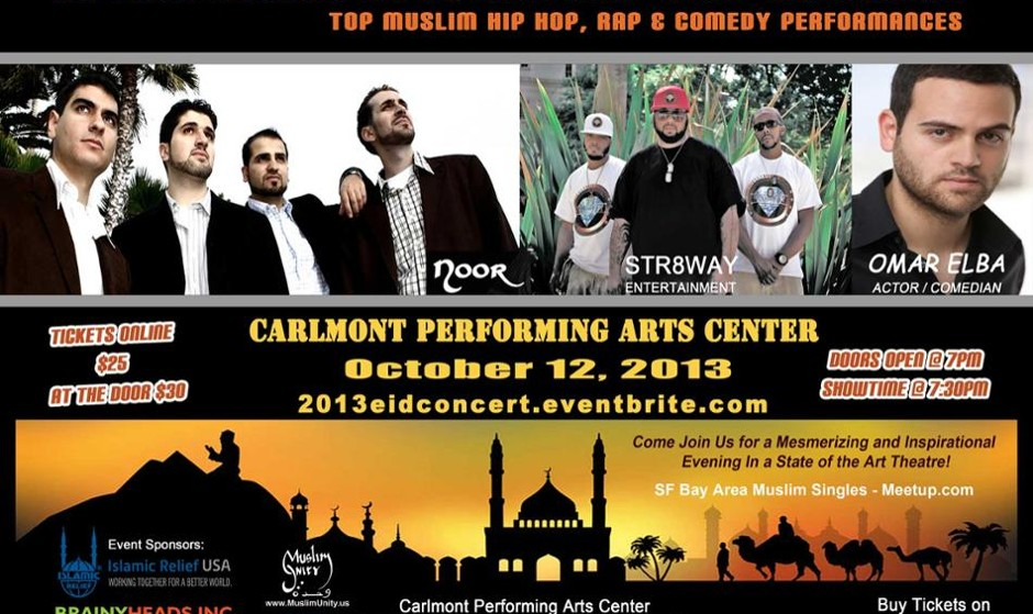 2013 Eid Muslim Hip Hop Artists Concert