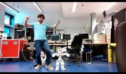 Robot and inventor in Groningen, Netherlands dance to Persian ...