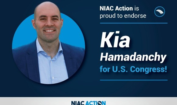 Kia Hamadanchy 2018 Democratic Candidate: NIAC and its Impact on Our Community