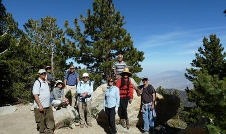 Hike at Palm Spring, San Jacinto Peak