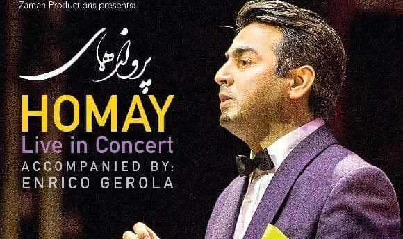 Homay Live in Irvine, Accompanied by Enrico Gerola