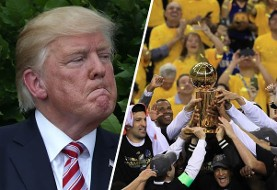 بازریکنان لیگ NBA ترامپ و کاخ سفید را تحریم کردند: حق آزادی سخن و اعتراض حق مسلم هر امریکاییست