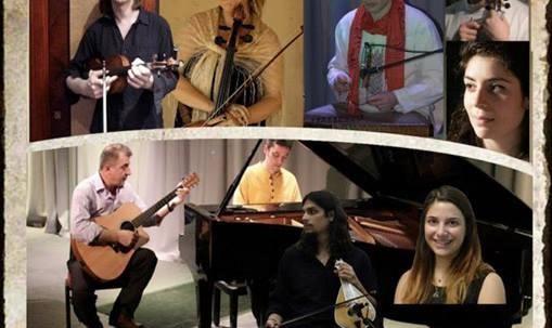 صدای سنتور: کنسرت موسیقی اصیل ایرانی و مقامی کردی و یونانی به سرپرستی پیمان حیدریان