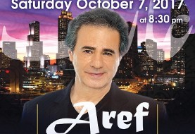 کنسرت با شکوه عارف در آتلانتا