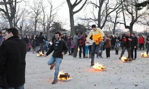 ChaharShanbe Suri 2015 Persian Festival of Fire