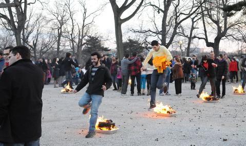 جشن خانوادگی چهارشنبه سوری در بنیاد ایمان