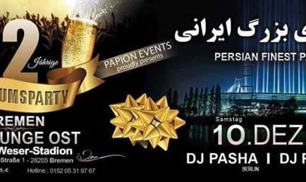 Persian Party in Bremen