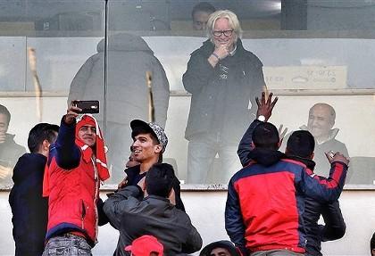 واکنش شفر به کُری هواداران پرسپولیس +عکس
