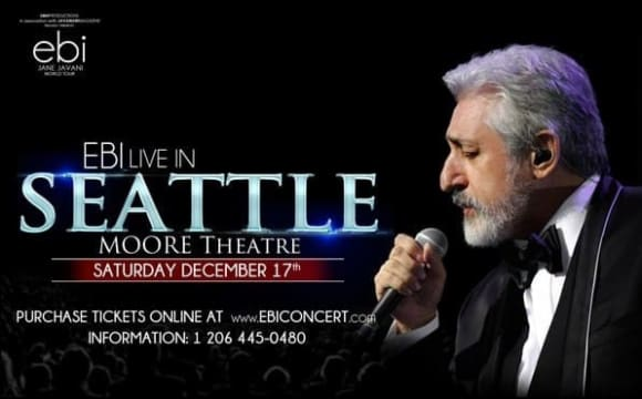 Ebi Live in Concert in Seattle