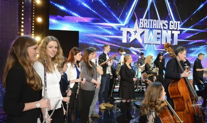 Orchestral Rock Conducted by Mehrdad Farid: Britain Got Talent Semi Finalists