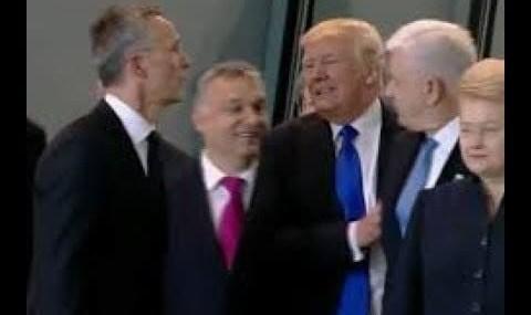 Videos of Trump's odd moves go viral