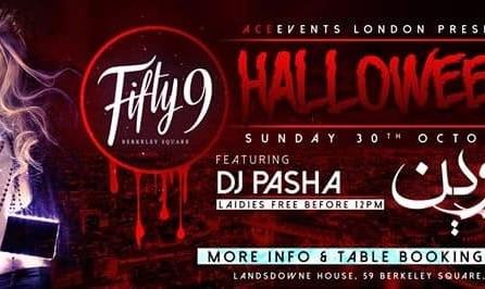DJ Pasha: Halloween Persian Party