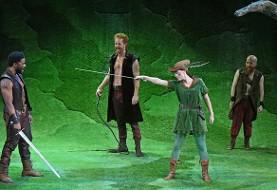 جنگل شروود در در بورلی هیلز آمریکا: قلب رابین هود بر صحنه تئاتر