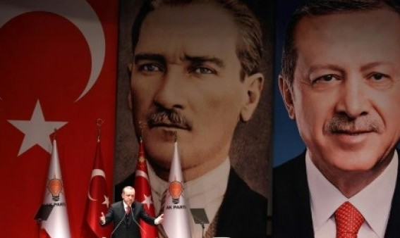 قرار دادن عکس آتاتورک و اردوغان بر روی سیبل تیراندازی در رزمایش ناتو در نروژ! خروج ارتش ترکیه