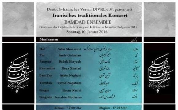 Bamdadgruppe aus Iran: Persische Kulturabend