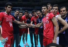 تیم ملی زیر ۲۱ سال والیبال ایران تیم ملی بزرگسالان چین را ۳ بر صفر شکست داد