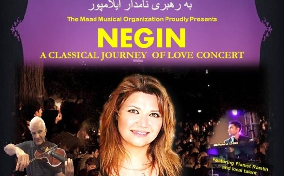 Negin Live in Concert at Westchase Hilton