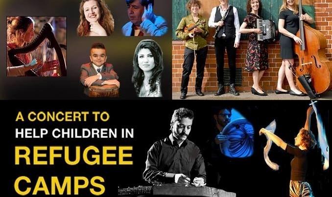 کنسرت با شکوه در حمایت از کودکان آواره کردستان