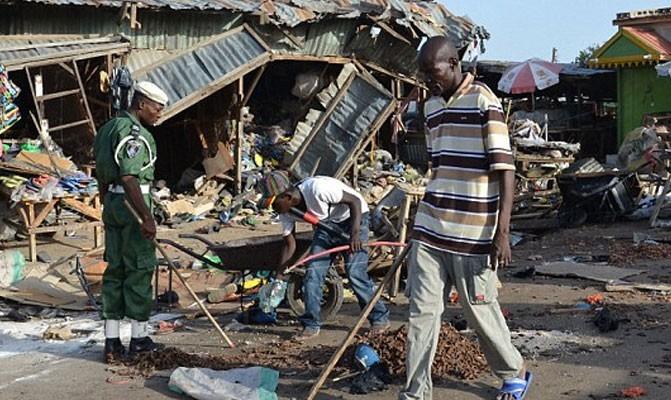 افراطی گرایی مذهبی به نیجریه رسید: ۳ انفجار انتحاری بوکوحرام در نیجریه ۲۷ کشته و ۸۳ زخمی برجای گذاشت