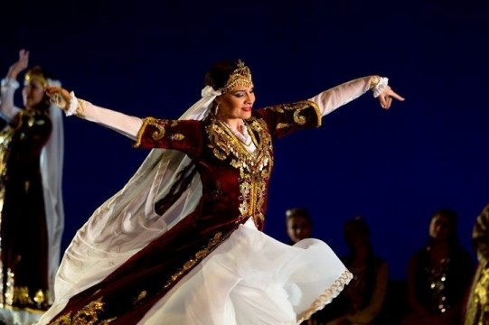 Afsaneh Style Persian Dance Technique