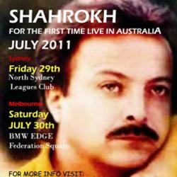 کنسرت شاهرخ در سیدنی استرالیا