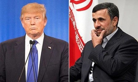 In a Diatribe against American Media, Ahmadinejad wishes Trump ...