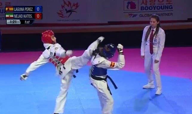 Iranian Female Athlete Wins Gold, Undefeated, in World Taekwondo ...