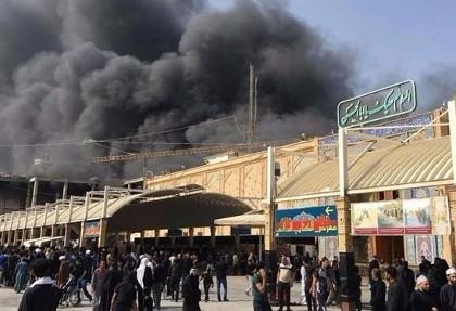 آخرین جزئیات آتشسوزی هتل زائران ایرانی در نجف: ۴۳ زائر ایرانی مصدوم شدند