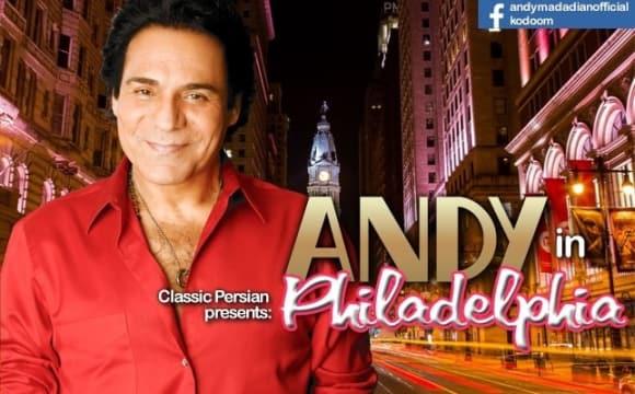 Andy Live in Concert in Philadelphia