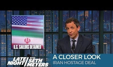 Iran Prisoner Swap: A Closer Look - Late Night with Seth Meyers