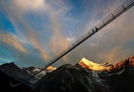 طولانیترین پل معلق عابران در سوئیس افتتاح شد
