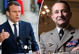 شجاعت رئیس جمهور فرانسه در کاهش بودجه نظامی منجر به استعفای رئیس ارتش شد