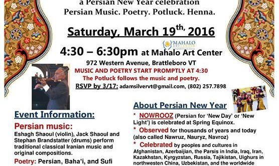 NOWROOZ a Persian New Year celebration