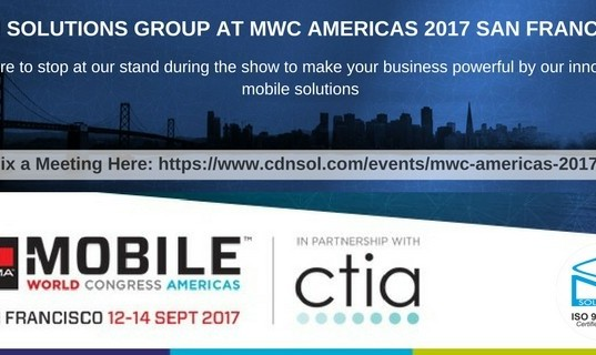 CDN Solutions Group at Mobile World Congress MWC Americas 2017