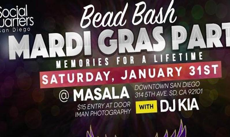 Bead Bash Mardi Gras Party