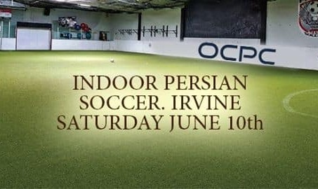 OCPC Indoor Persian Soccer In Irvine