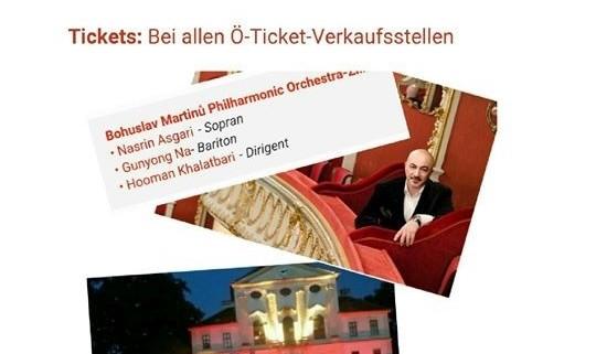 کنسرت نسرین عسگری و هومن خلعتبری: افتتاحیه فستیوال  قصر کیرشتتن