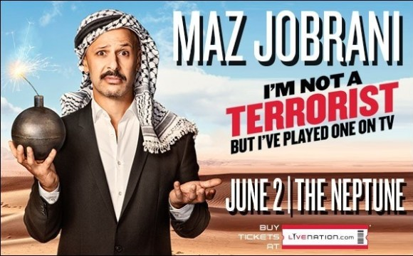 Maz Jobrani Stand up Comedy: I'm Not A Terrorist, but I've Played One on TV