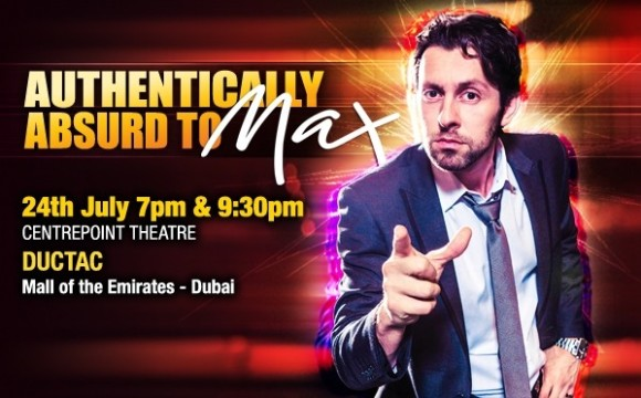 Max Amini Stand Up Comedy: Authentically Absurd
