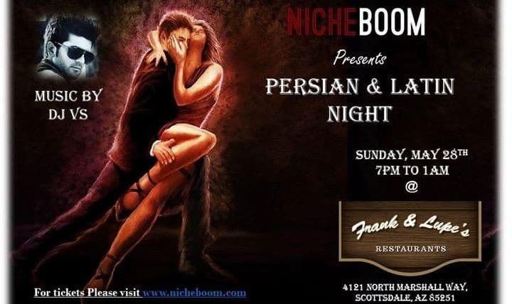 Persian and Latin Night