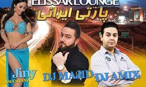 DJ Majid and DJ Amix: Persian Party in Hamburg