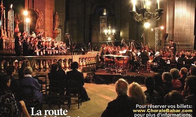 کنسرت جاده ابریشم: بزرگترین گروه کر ایرانیان دراروپا به رهبری آرش فولادوند، همراه سوپرانو سارا حمیدی