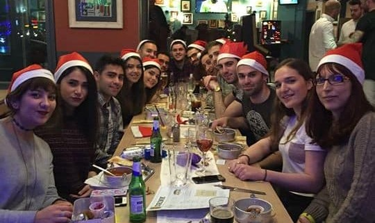 Christmas Meal, Yalda Night