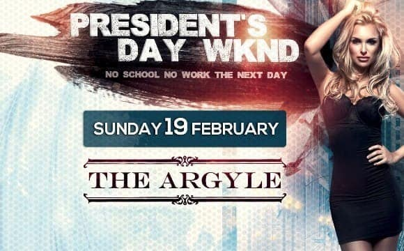 President Day Weekend Bash in Los Angeles