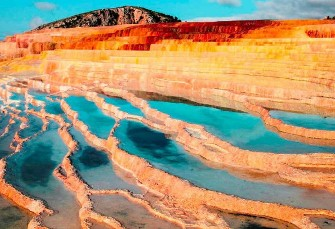 In Pictures: Iran's Colorful Natural Hot ...