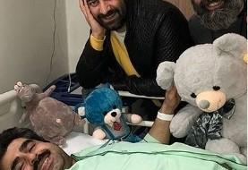 کمدین معروف زیر تیغ جراحی: امیر نوری روی تخت بیمارستان غافلگیر شد! +عکس