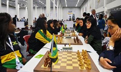 Iranian women top ranked in World Chess Olympiad